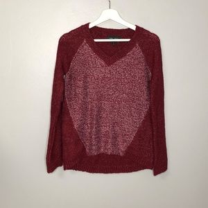 Romeo & Juliet Couture V Neck Sweater Sz S